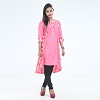 Exclusive Embroidery Kurti For Stylish Women one pc color Pink